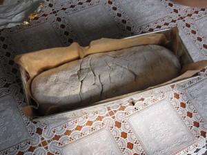 chleb w foremce