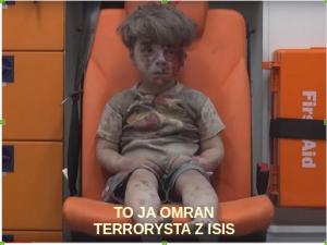To ja Omran terrorysta z ISIS